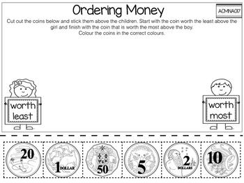 Money - Australian Currency (Grade 1)