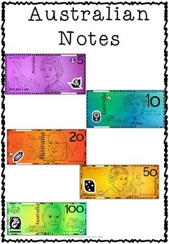 Australian Money- notes and coins