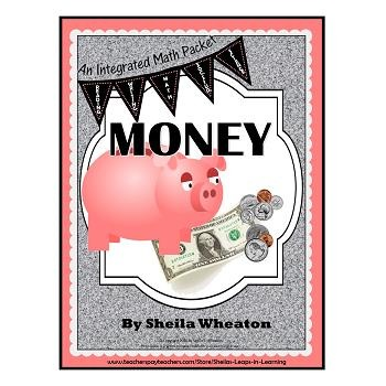 Money BIG Bundle!  An All-Inclusive Integrated Math Packet