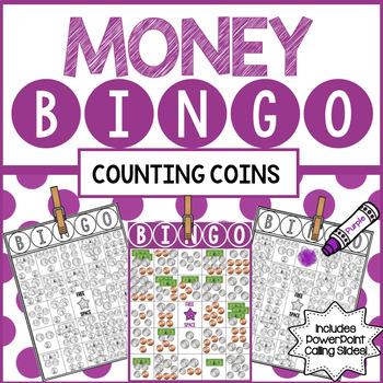 Money BINGO Counting Coins