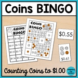 Money BINGO Games: Counting coins up to $1.00