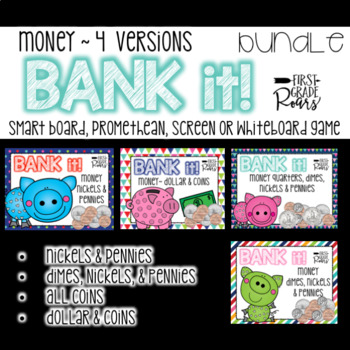 Money BUNDLE Bank It! A Projectable Game