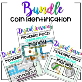 Money BUNDLE - Coin Identification - Digital Google ONLINE Distance Learning