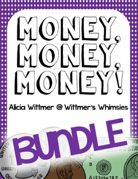 Money BUNDLE! {activities, scoots, and games for American money}