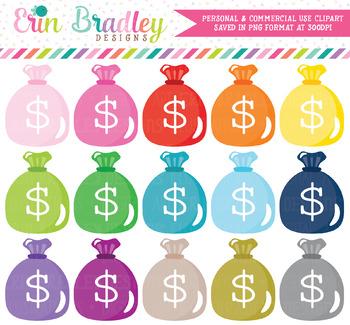 Money Bags Clipart