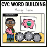 Money Bank Themed CVC Word Building Pack