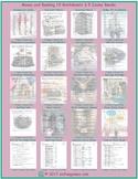 Money-Banking 20 Worksheet and Exam Bundle