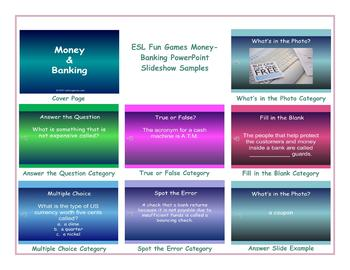 Money-Banking PowerPoint Slideshow