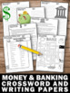 Financial Literacy Vocabulary Crossword Puzzle, Money & Banking Life Skills