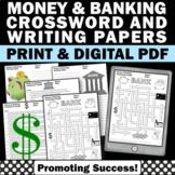 Personal Financial Literacy Worksheets, Consumer Math Skills Money & Banking
