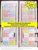 Financial Literacy BUNDLE Money and Banking Math Vocabular