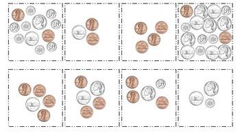 Money Battle with Pennies, Nickels, and Dimes