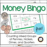 Money Bingo Counting Coin Combinations FREE