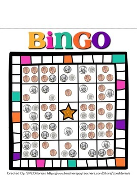 Money Bingo Game