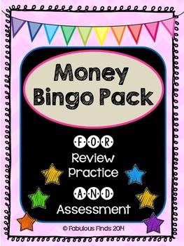 Money Bingo Pack