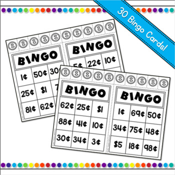 Money Bingo Powerpoint Game