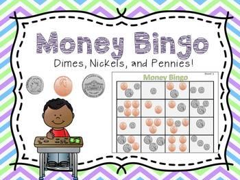 money bingo by 1st grade salt life teachers pay teachers. Black Bedroom Furniture Sets. Home Design Ideas