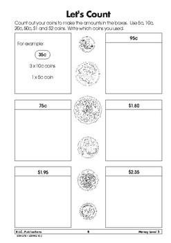 Money - Book 3 - Ages 7-8