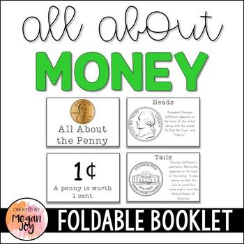 Money Booklets & Coin Identification Activities