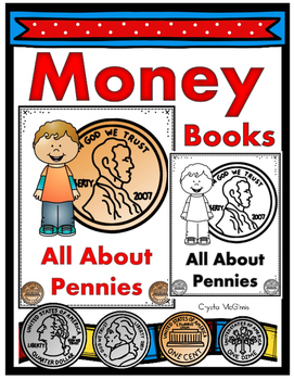 Money Books (A Coin Introduction for Young Learners) Color