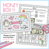 """Money Box - Girl Scout Daisies - """"Money Counts"""" Activity Pack (Steps 1 & 2)"""