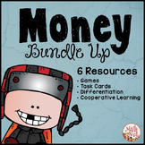 """Money Bundle Up """"Money Games"""" (Counting Coin Games)"""