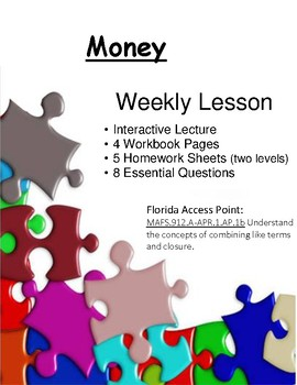 Money Bundle - A Week of Lessons