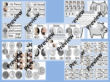 Money Bundle Unit of Two Best Selling Money and Coin Activities