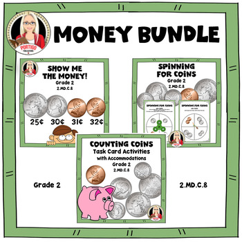 Money Bundle COUNTING COINS Grade 2