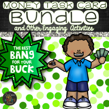 Money Bundle of Task Cards and Activities