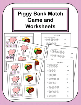 Money Bundle with 4 Practice Activities