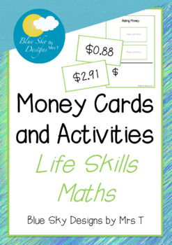 Money Card Set - Free!