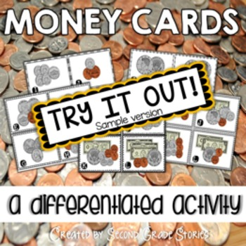 "Money Cards ""Read the Room"" - freebie"
