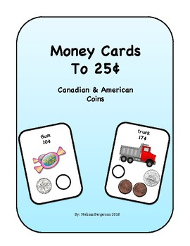 Money Cards to 25¢