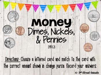 Money Center: Dimes, Nickels, & Pennies - GO MATH! Chapter 7
