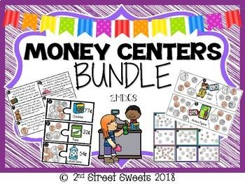 Money Centers BUNDLE 7 centers!! 2.MD.C.8 - GO MATH! Chapter 7