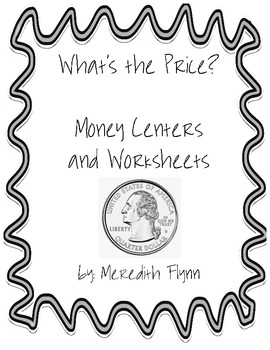 Money Centers and Printables