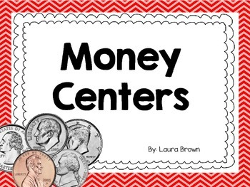 Money Centers for Elementary