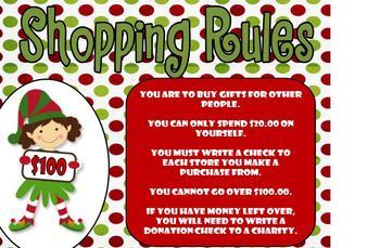Money - Christmas Shopping