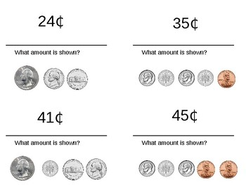 Money Circuit-- Counting Mixed Coins