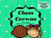Money Class Crowns (headbands) Game {FREEBIE}