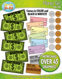 Money Clipart {Zip-A-Dee-Doo-Dah Designs}