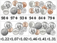 Money Clip Cards- COINS. Task Cards for Money Math Centers or Work Systems