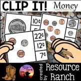 Money Clip Cards Coins Practice