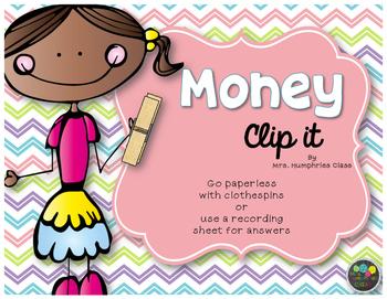 Money Clip It cards