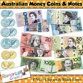 Money Clip art, Australian Currency