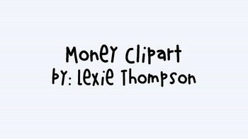 Money Clipart! -FREE!!