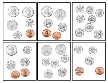 Money Coin Card Game