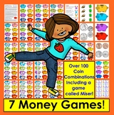 Money Games:  Counting Coins Games + Coin Poem – 7 WAYS TO PLAY - CommonCore