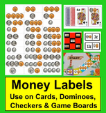 Money Labels:  Coin Counting Money Math Center Activities Labels in an Instant